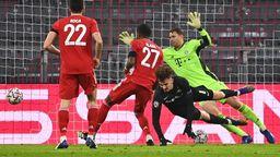 FC Bayern München - RB Salzburg | Bild:dpa-Bildfunk/Sven Hoppe