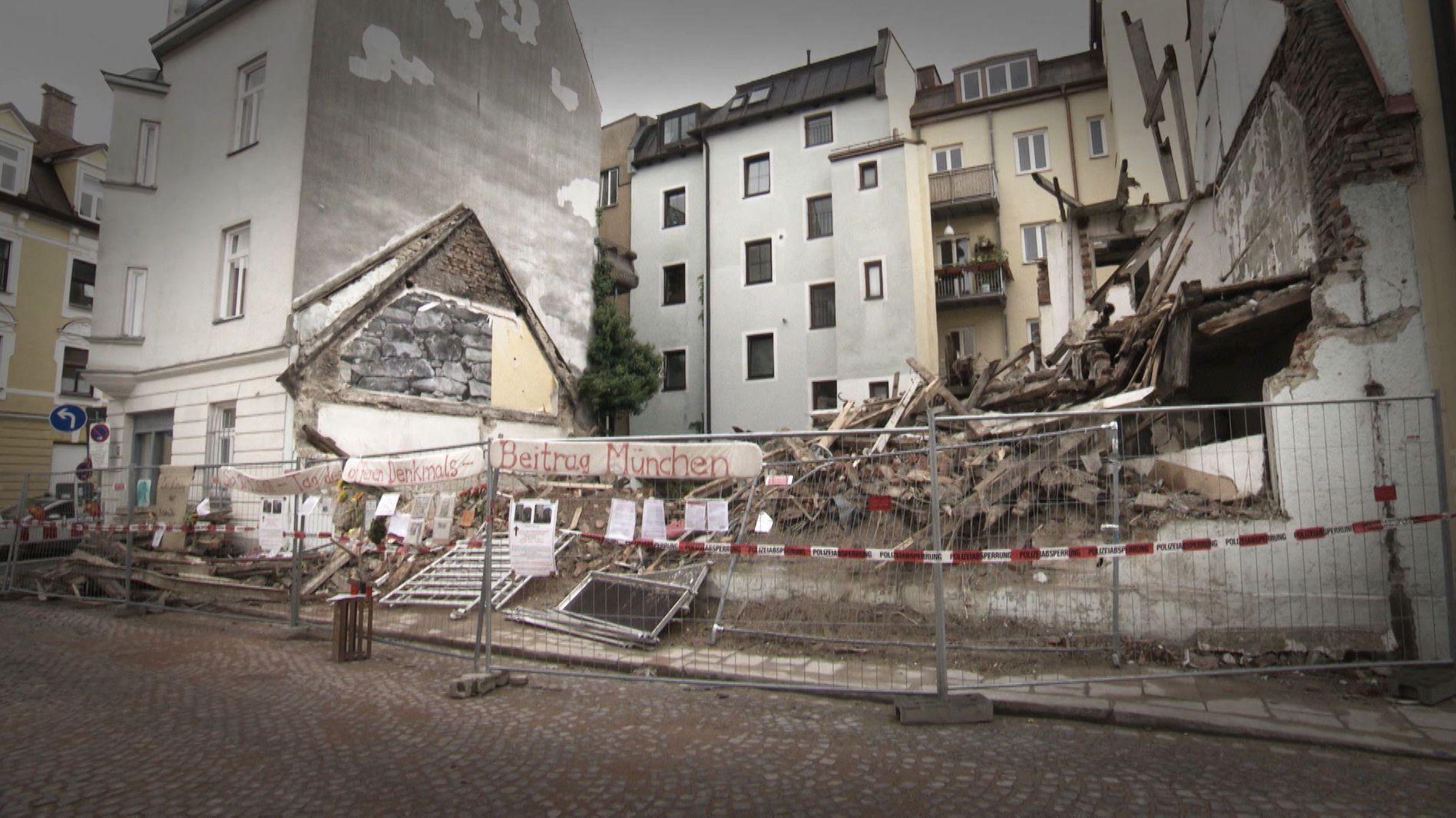 Das Uhrmacherhäusl in München-Giesing ist zum Symbol geworden für Profitgier im Immobilienmarkt: das denkmalgeschützte Haus wurde abgerissen.