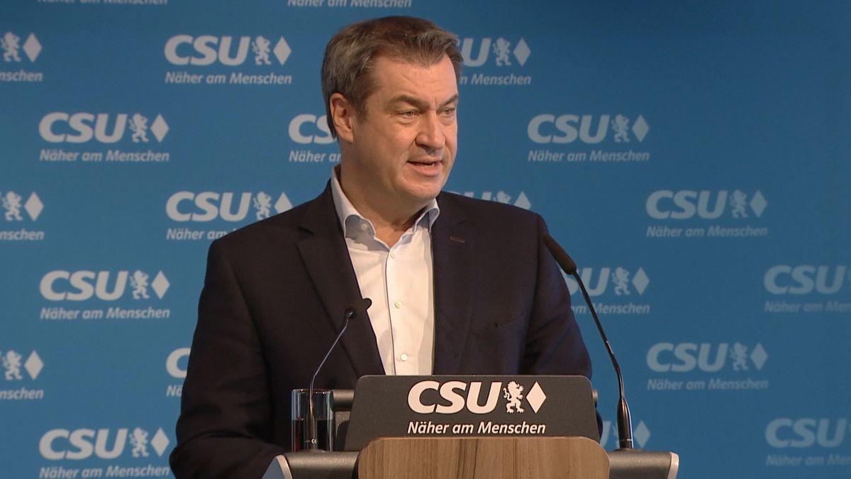 CSU-Chef Söder in München
