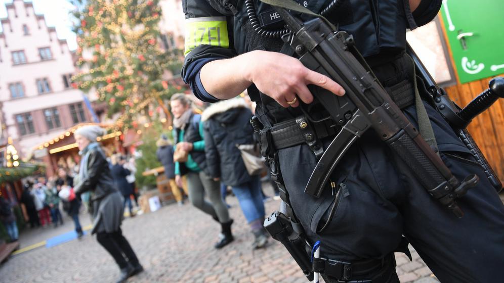 Szene in Straßburg nach Anschlag | Bild:BR