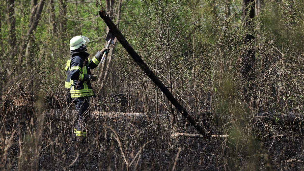 Waldbrandgefahr in ganz Bayern