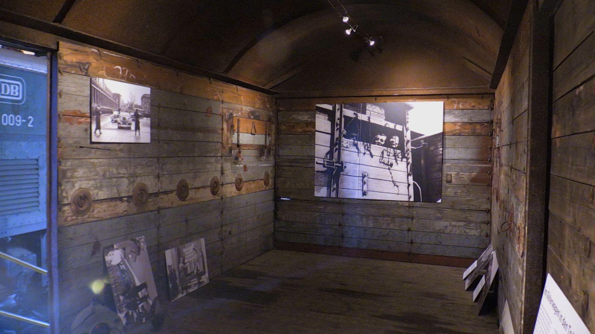 Der Augsburger Bahnpark widmet sich einem dunklen Kapitel der deutschen Geschichte: dem Transport von Juden in die Vernichtungslager.