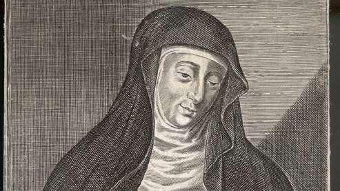 Hildegard von Bingen, Zeichnung