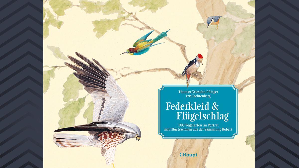 Buchcover mit Baum und Vögeln
