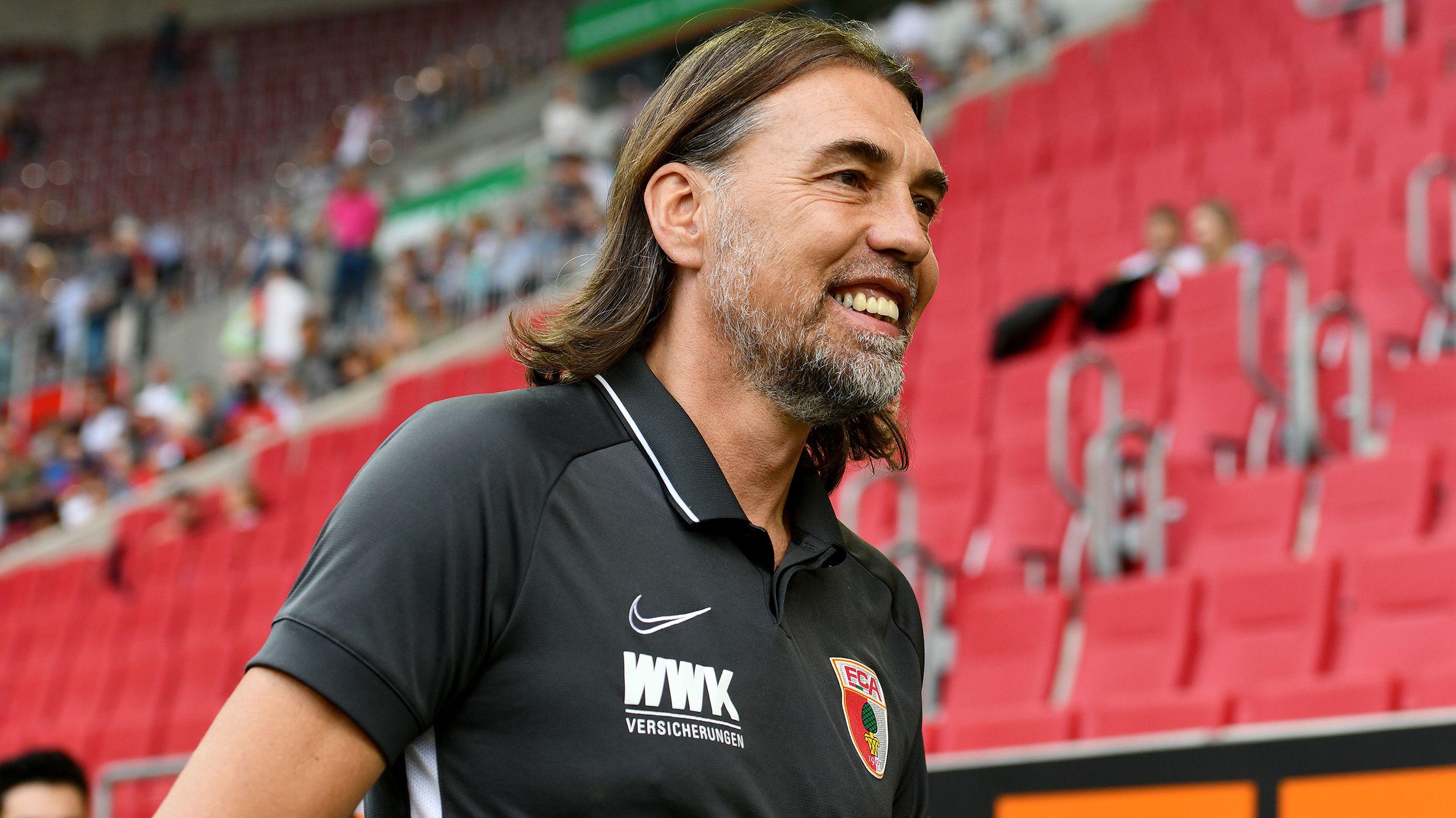 FCA-Trainer Martin Schmidt