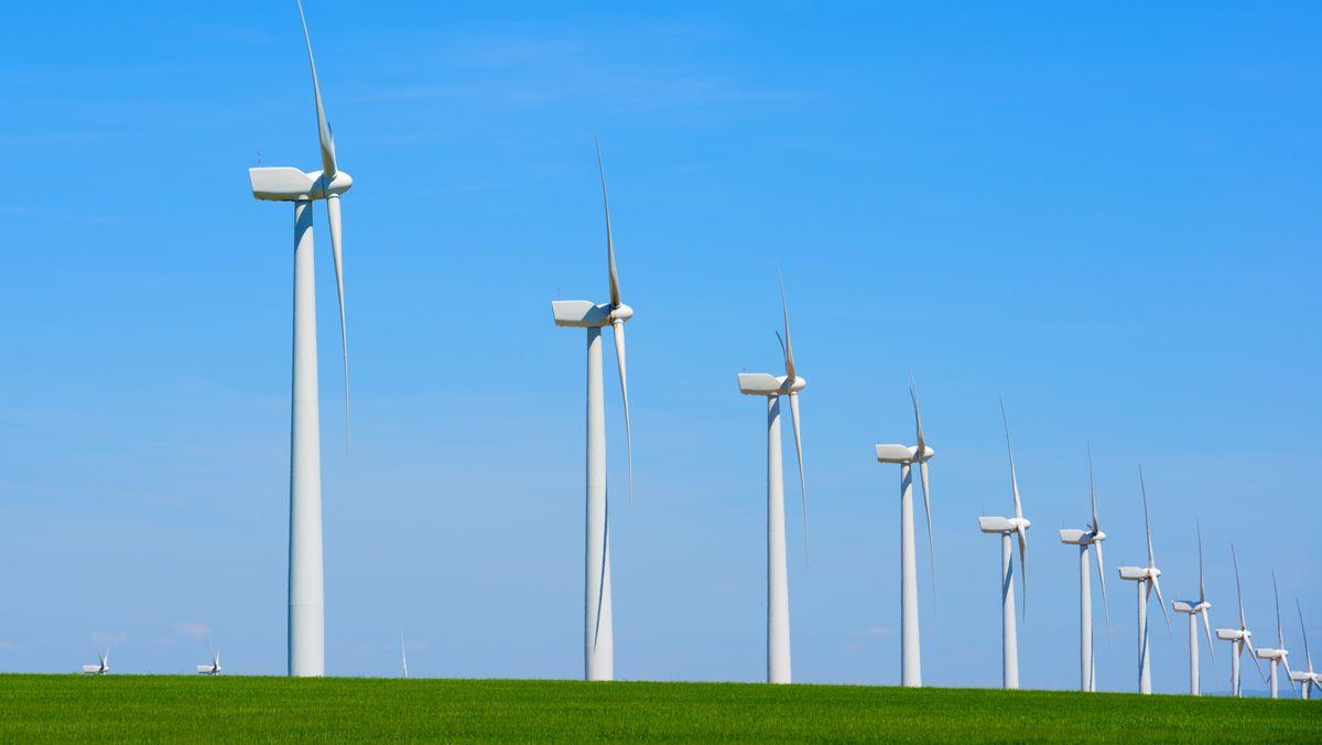 Windkraftanlagen (Symbolbild)
