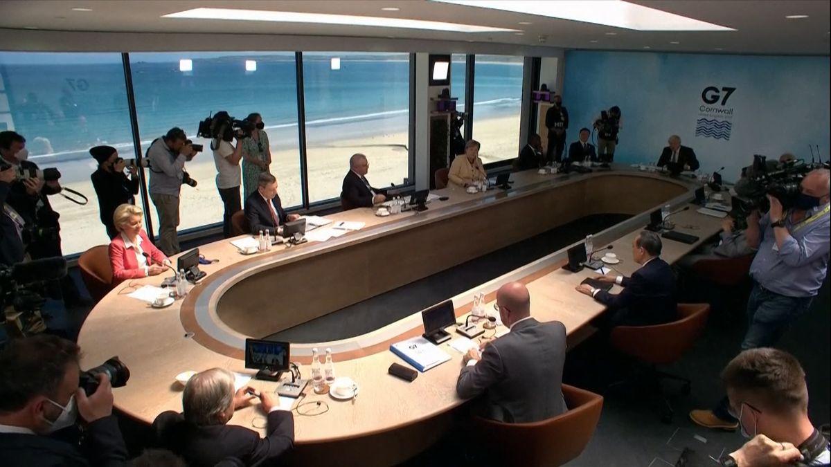 Zum Abschluss ihres gemeinsamen Gipfels im englischen Carbis Bay haben die G7 eine Abschlusserklärung verabschiedet. Die Beschlüsse befassen sich mit China, Russland, dem Klimawandel und Plänen für eine gemeinsame Steuer- und Wirtschaftspolitik.