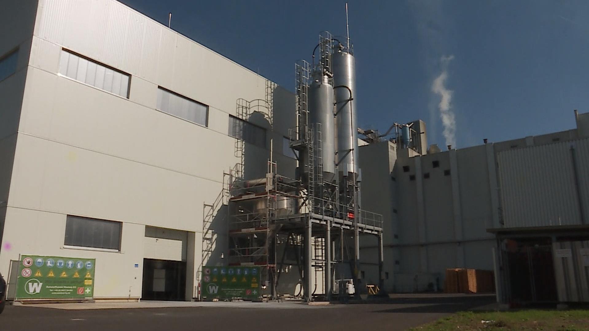 Klärschlammverwertungsanlage im Industriecenter Obernburg (ICO)