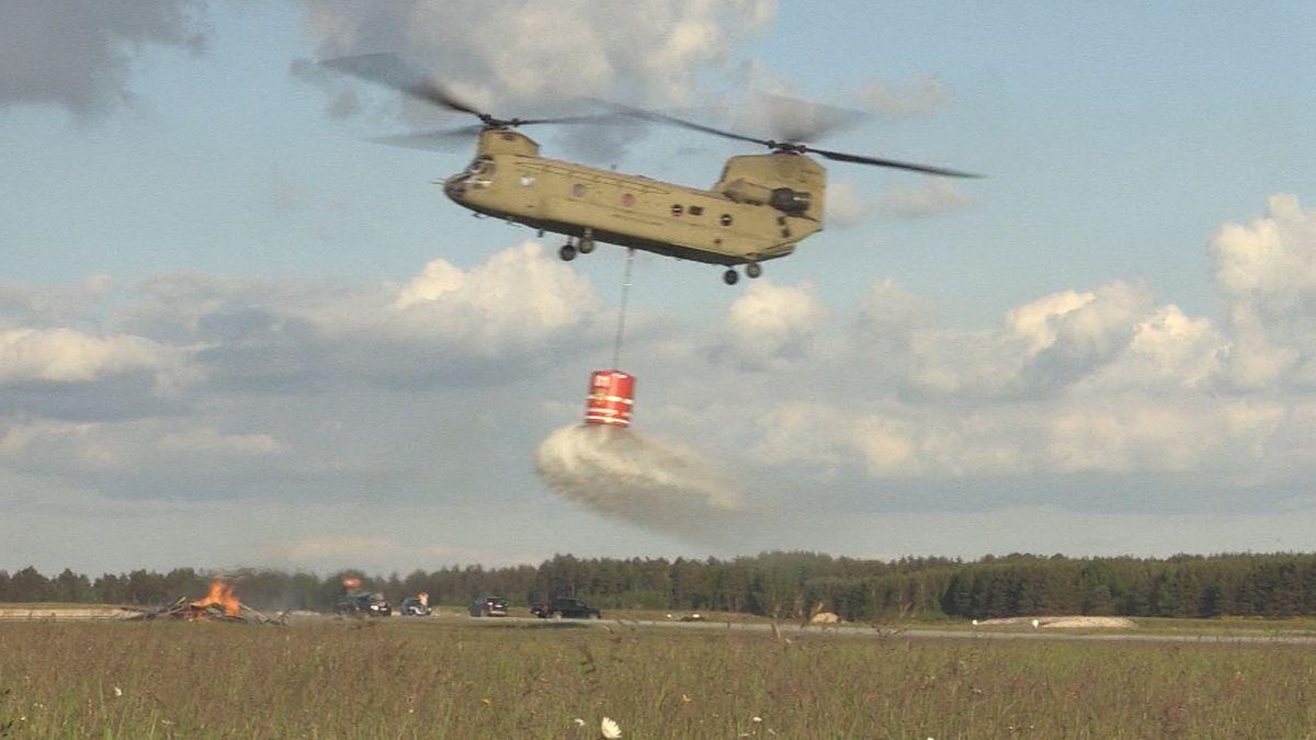 Hubschrauber des US-Militär