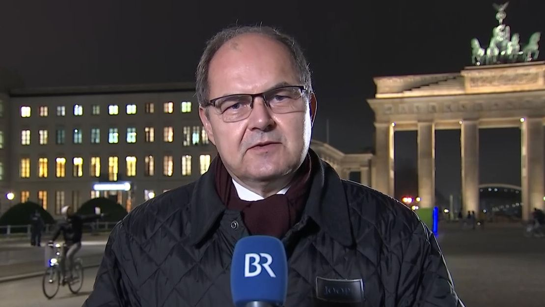 Der Fürther Bundestagsabgeordnete Christian Schmidt (CSU) im BR-Interview