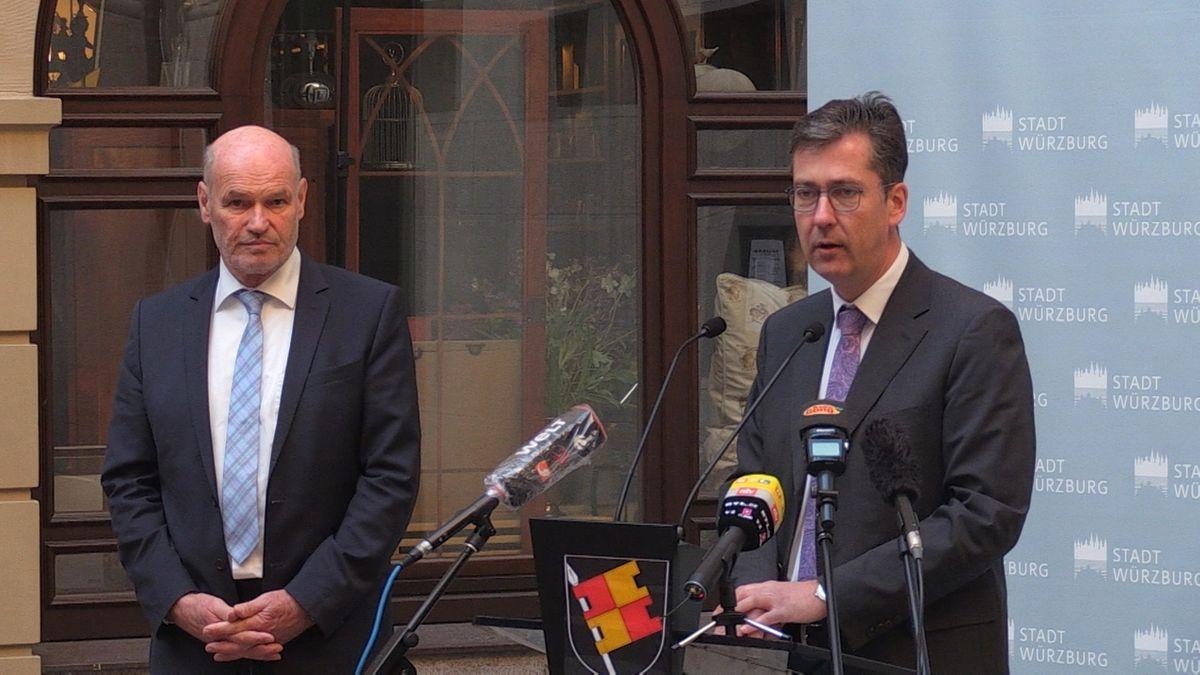 Pressekonferenz zum Coronavirus in Würzburg