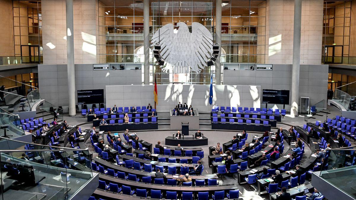 Plenum des Bundestages