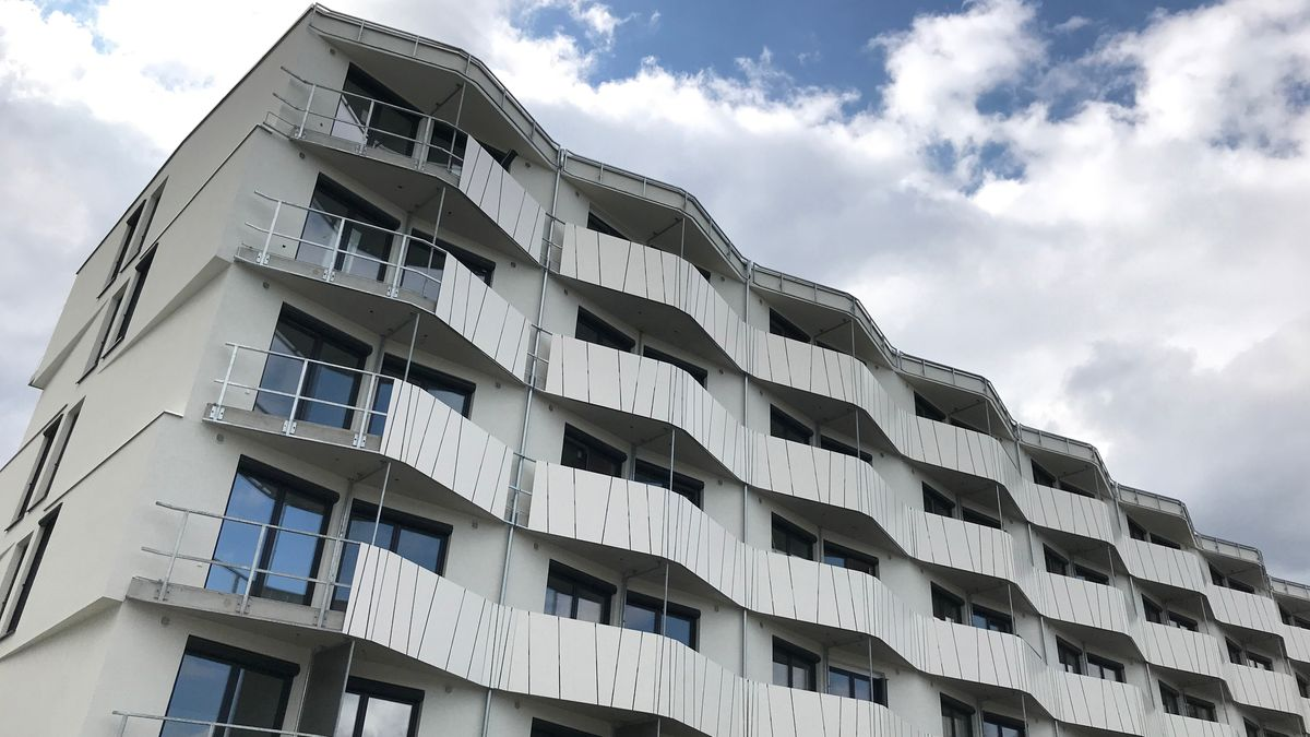Archivbild: sozialer Wohnungsbau in München-Riem