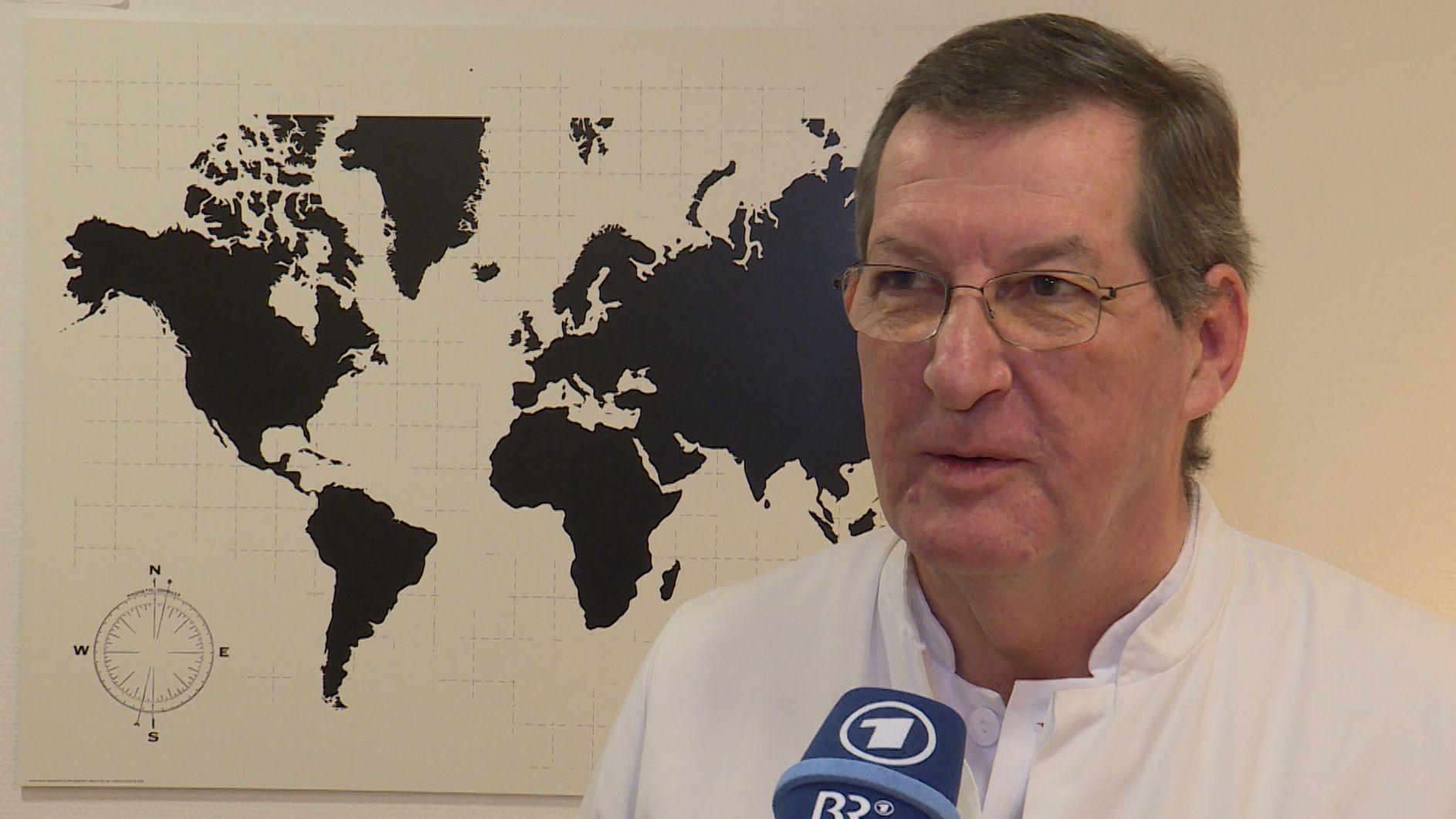 Professor Dr. August Stich vom Klinikum Würzburg Mitte