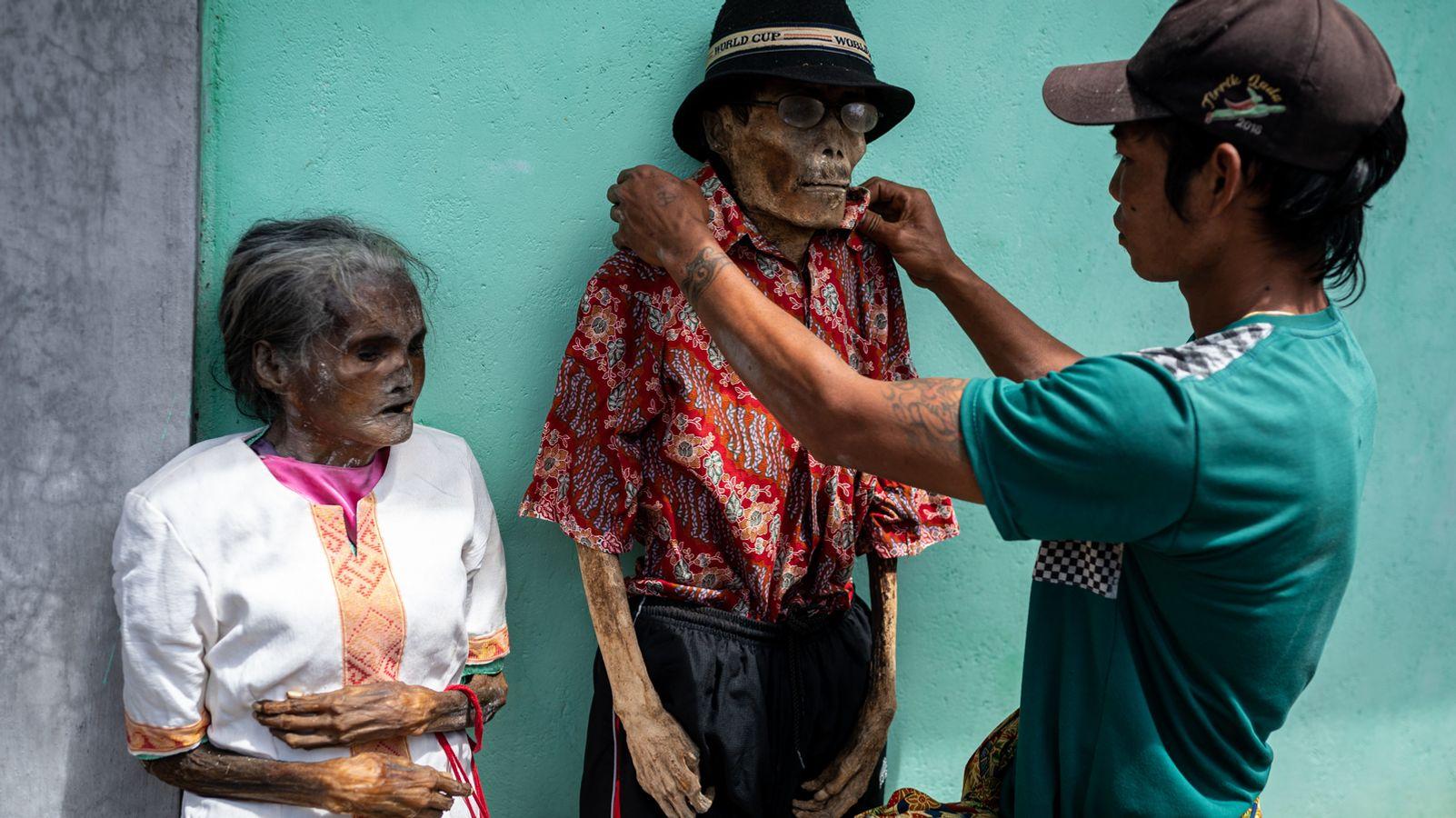 Leben und Feiern mit den Toten auf Sulawesi