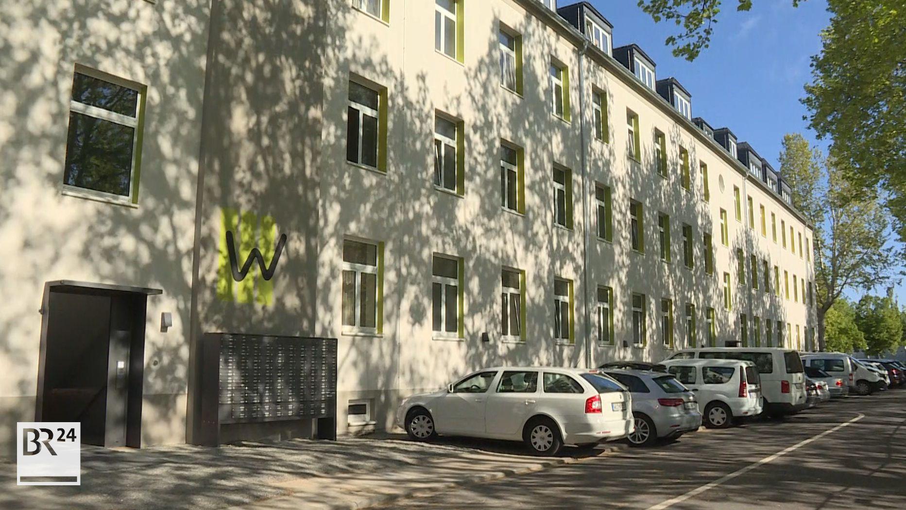 Frühere US-Kaserne Ledward Barracks in Schweinfurt