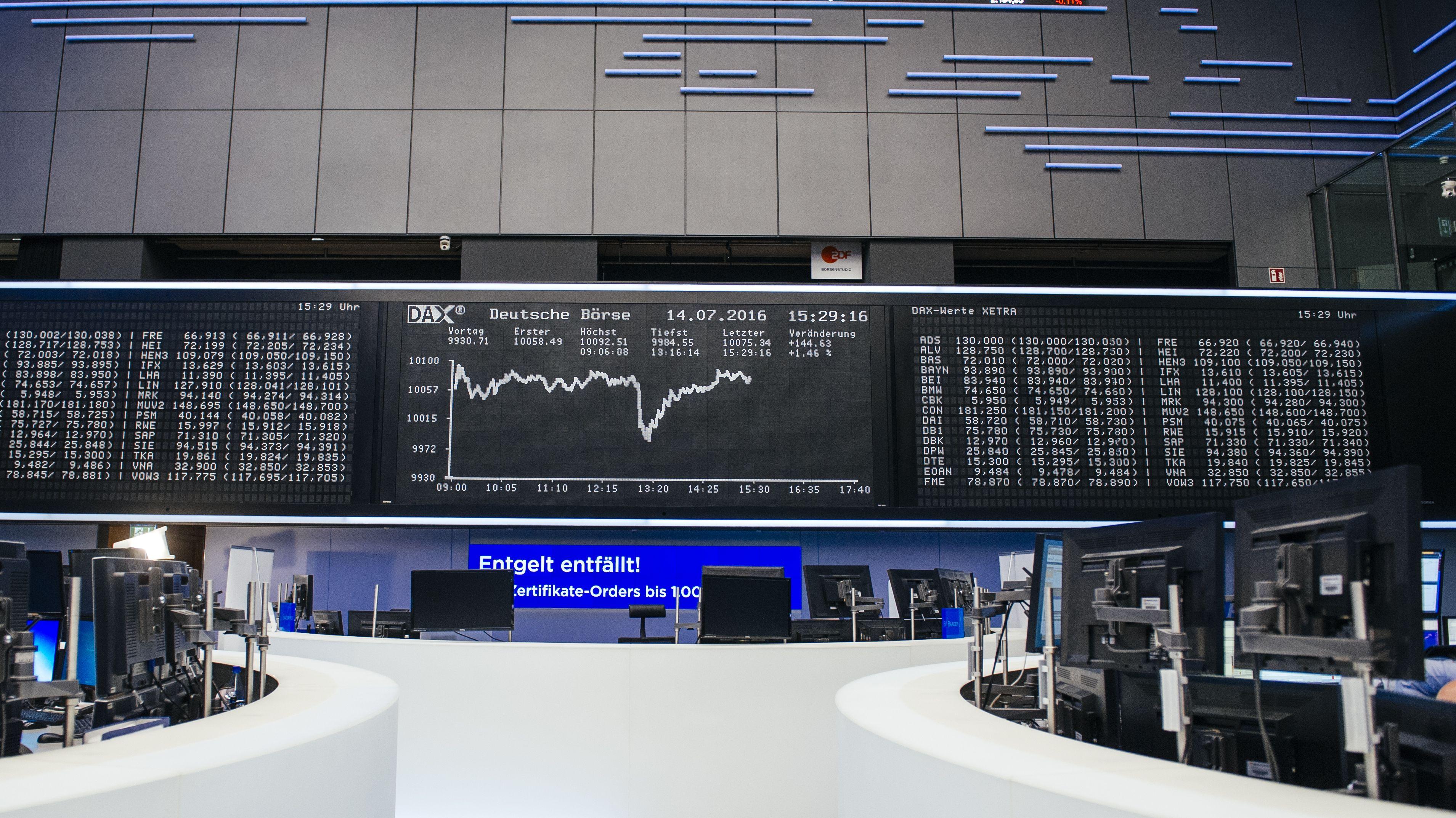 Börse in Fankfurt
