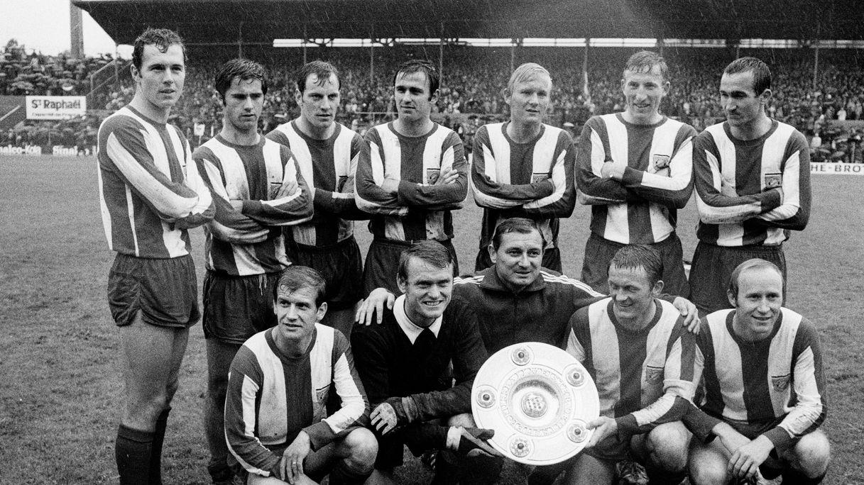 FC Bayern Deutscher Meister 1969