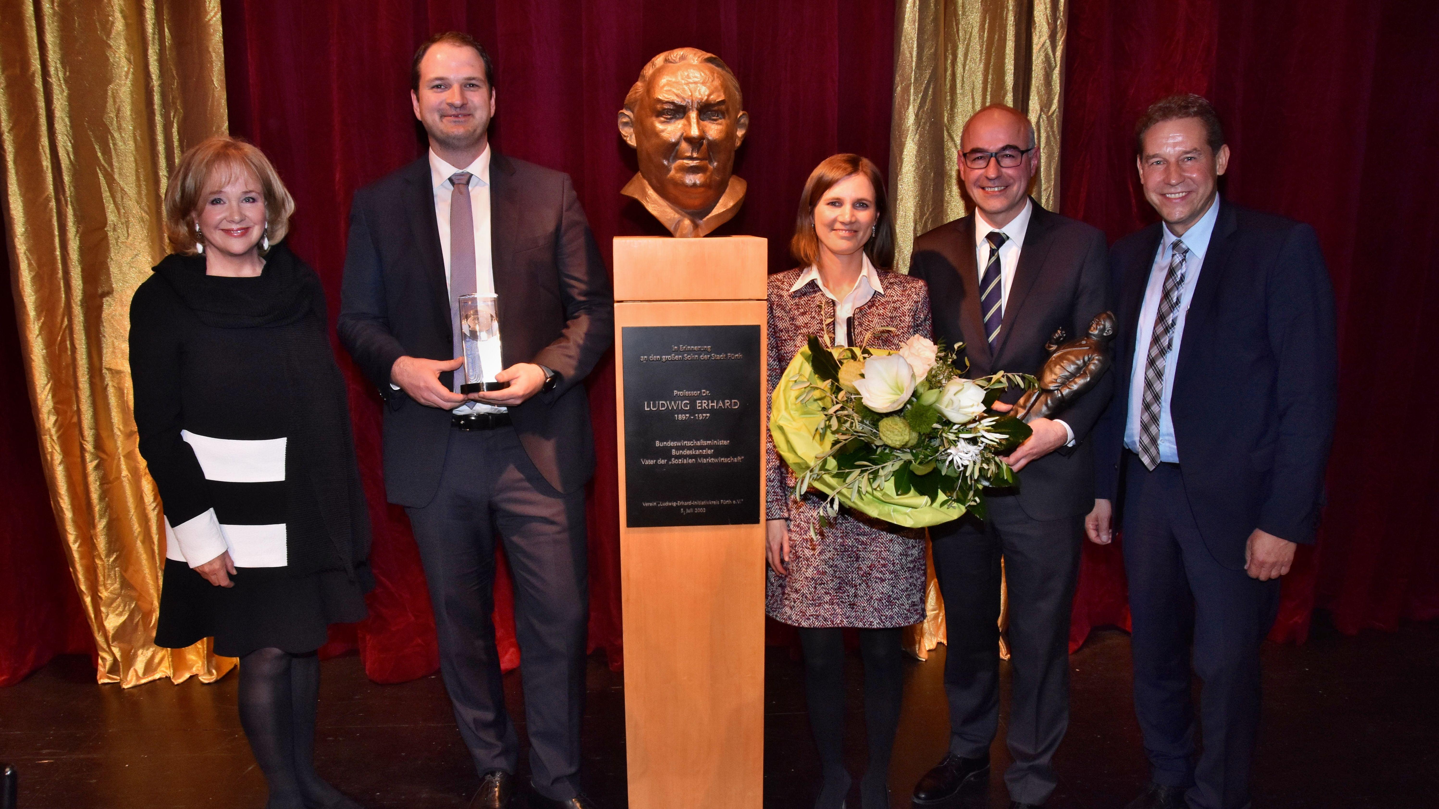 Verleihung des Ludwig-Erhard-Preises 2019 in Fürth