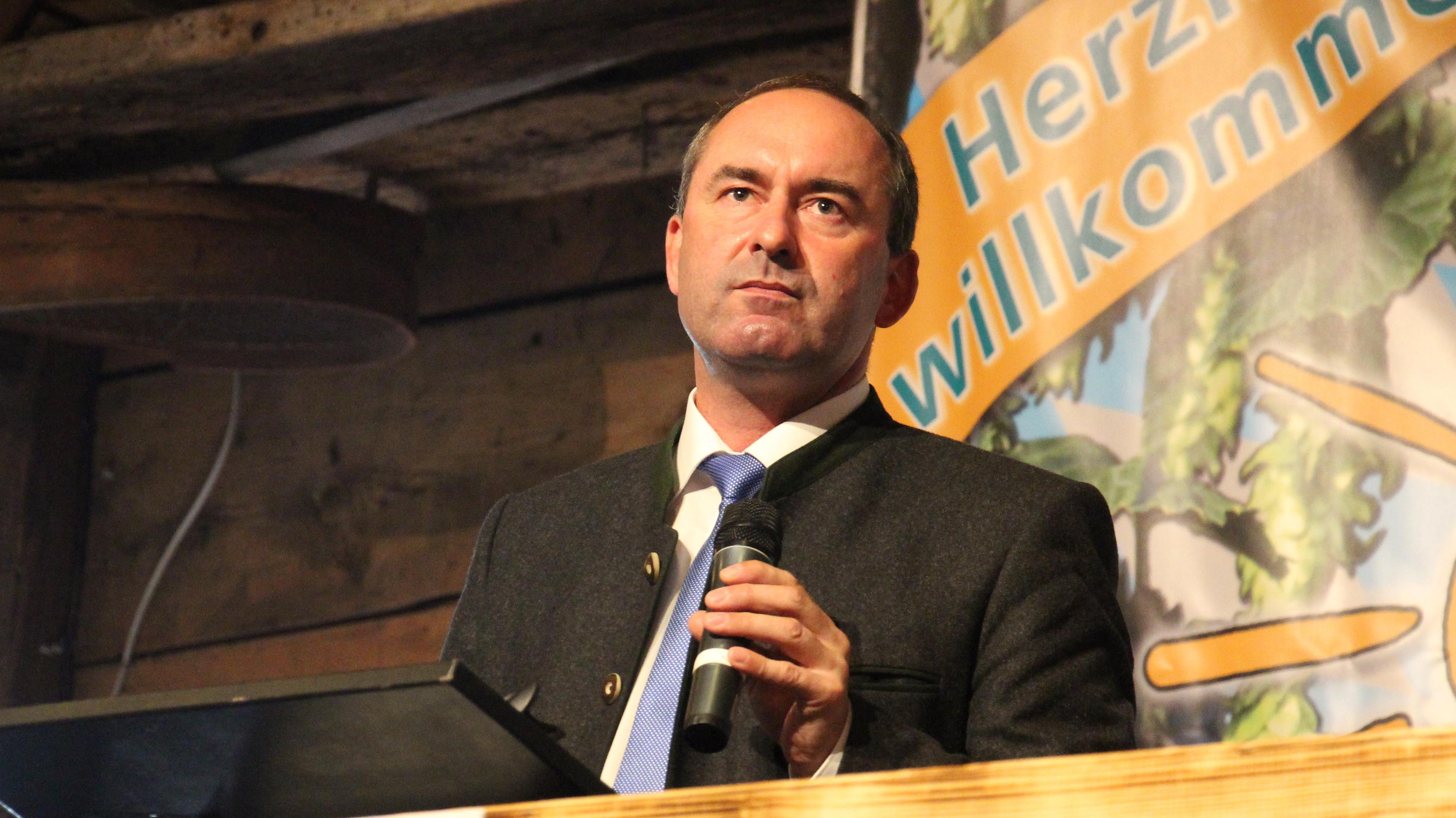 Rede Hubert Aiwanger beim Gillamoos