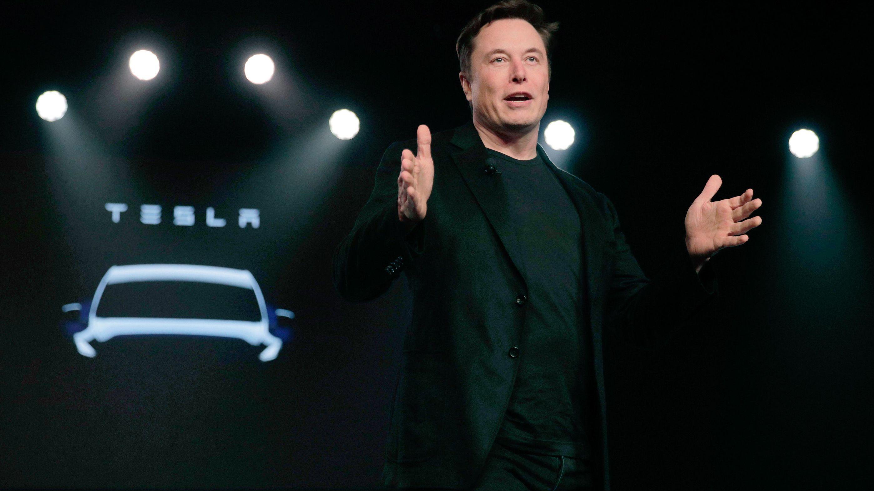 Der Chef von Tesla, Elon Musk