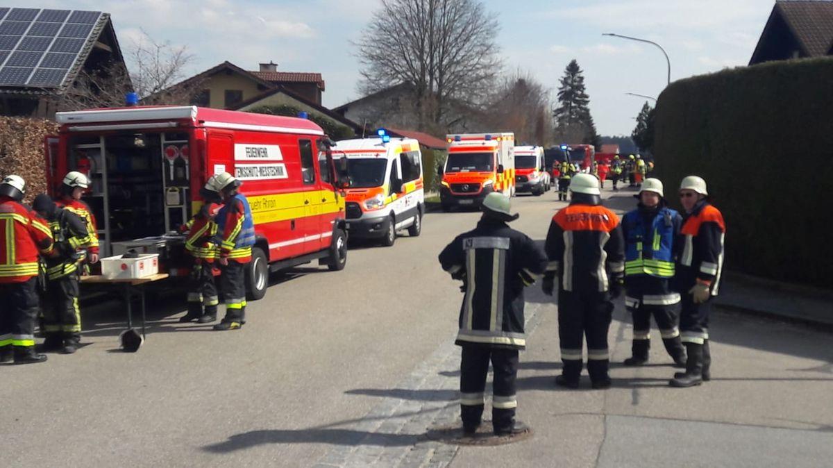 Großeinsatz von Rettungskräften in Bodenkirchen