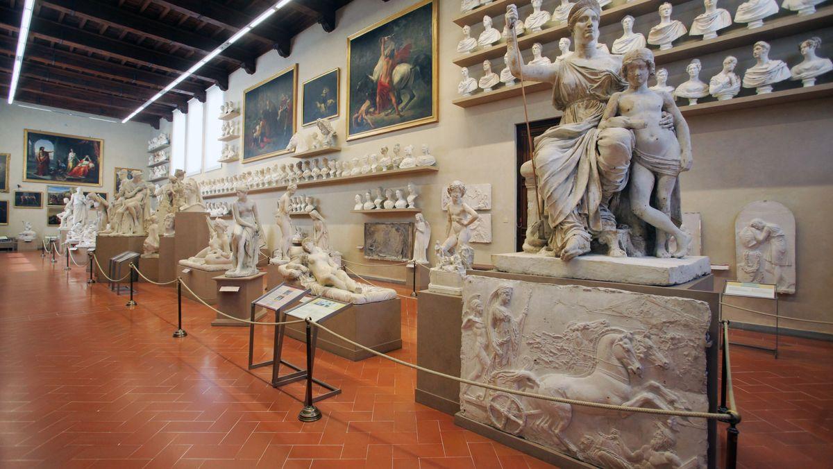 Ein Blick Museum Uffizien (Galleria degli Uffizi) in Florenz