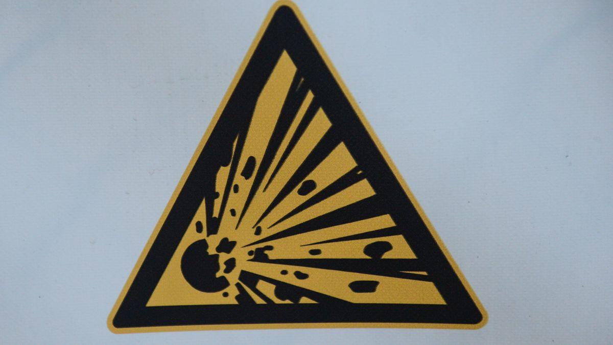Symbolbild Explosionsgefahr