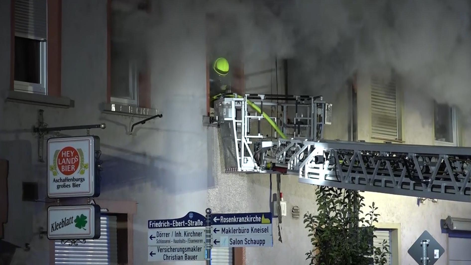 Feuerwehreinsatz in Stockstadt am Main