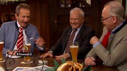 Sonntags-Stammtisch vom 16.12.2018, im Bild: Tilmann Schöberl, Erwin Huber und Dieter Hanitzsch. | Bild:BR