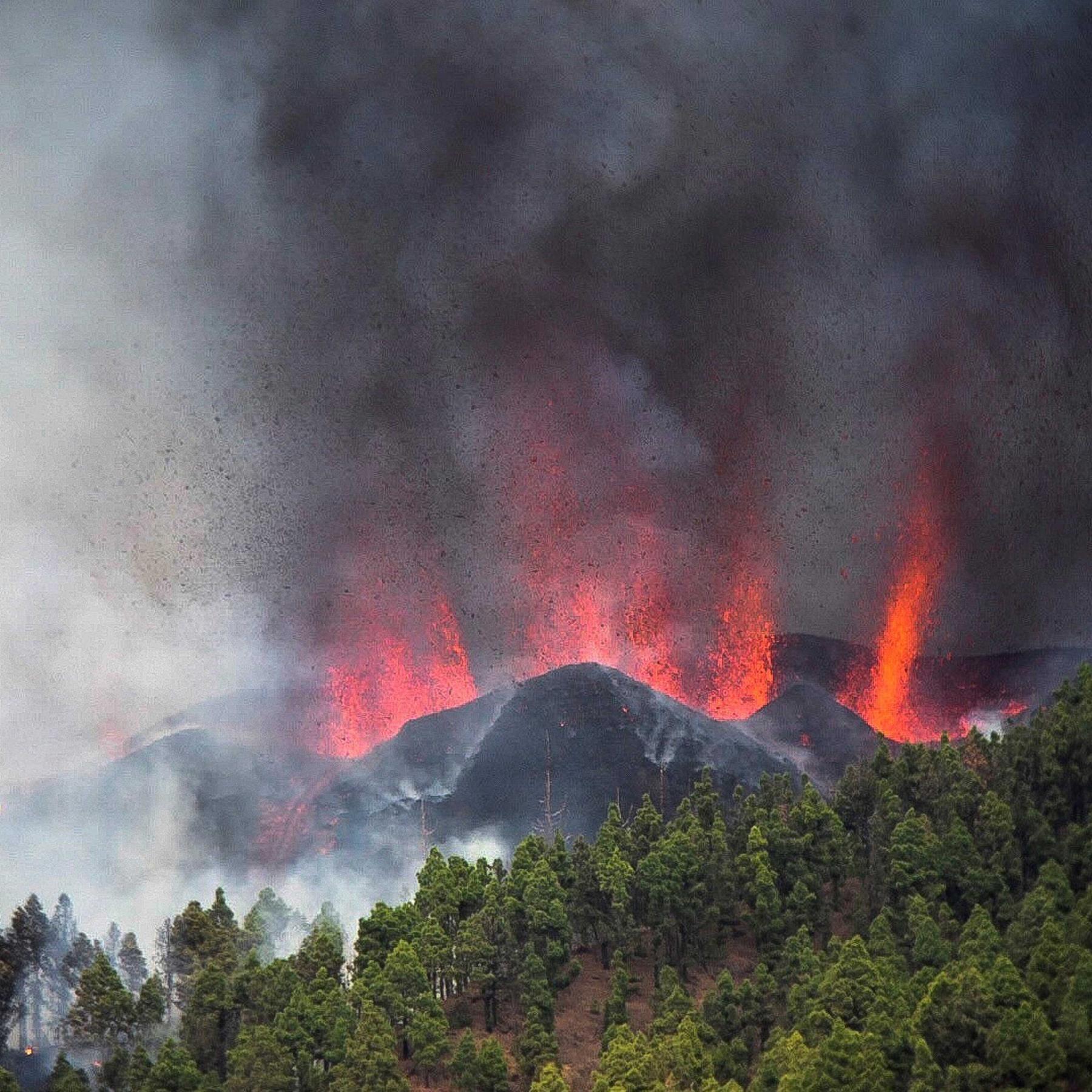 Vulkane auf den Kanaren - Was treibt den Ausbruch auf La Palma?