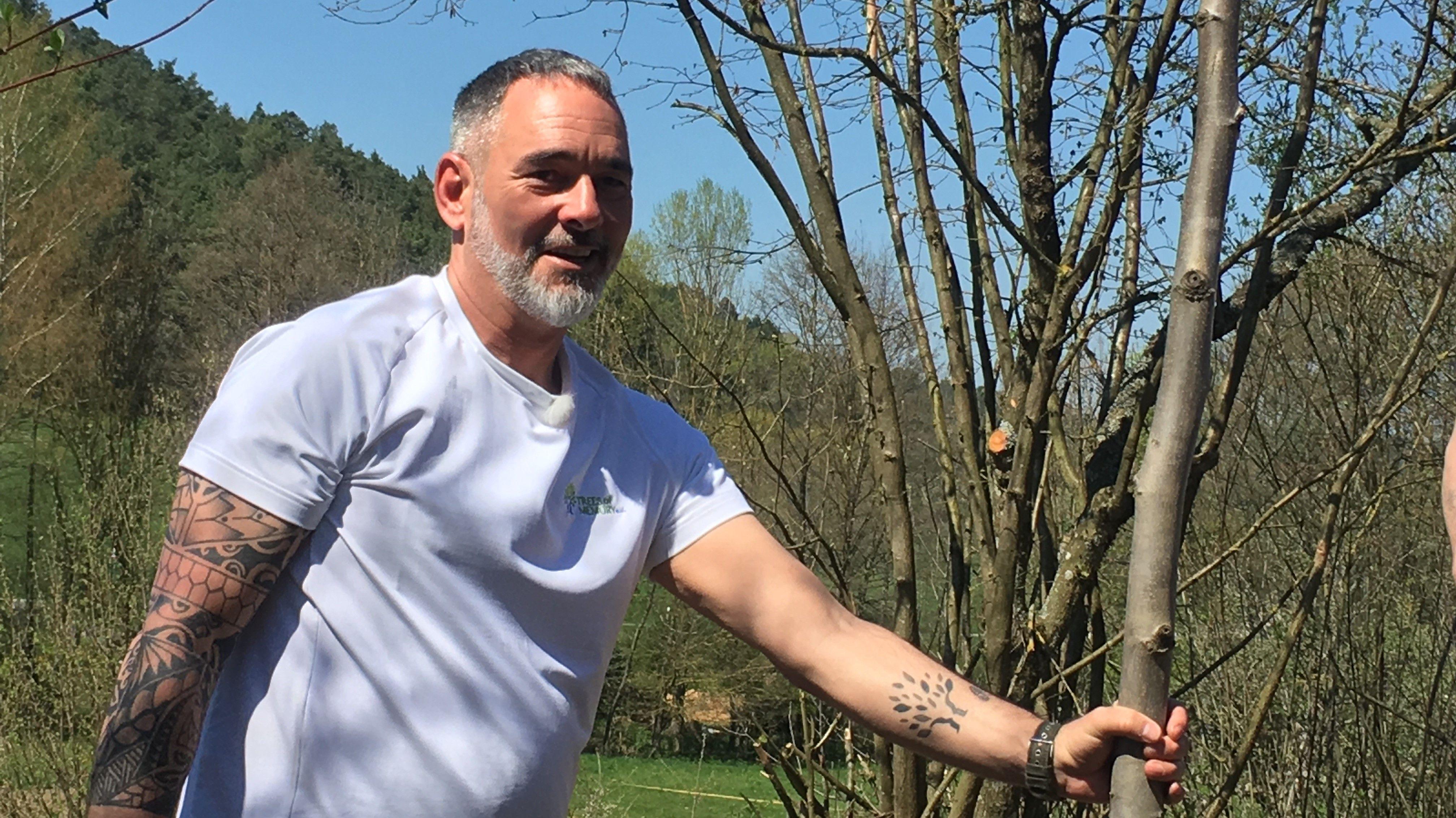 Mario Dieringer, Initiator von 'Trees of Memory'