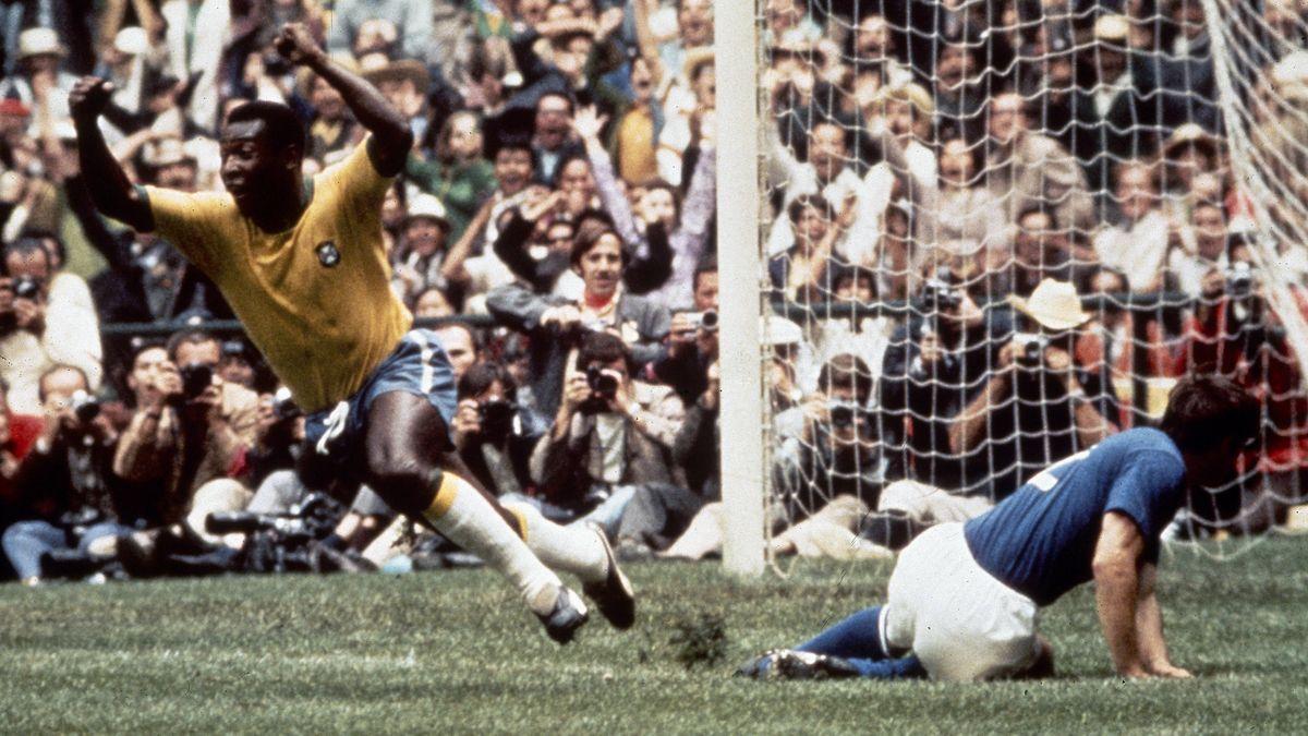 Pelé wurde mit Brasilien drei Mal Weltmeister