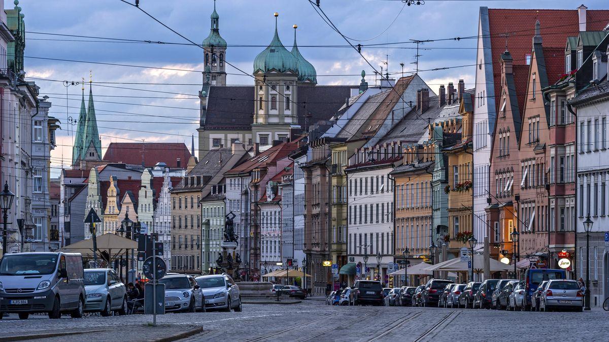 Stadtansicht von Augsburg (Archiv)