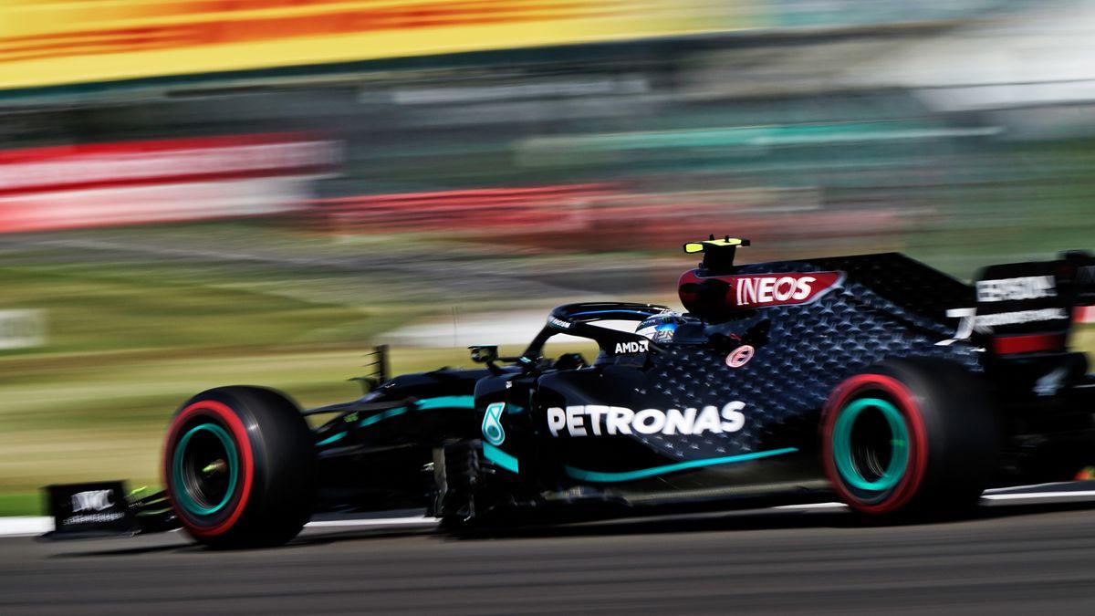 Valtteri Bottas in Silverstone