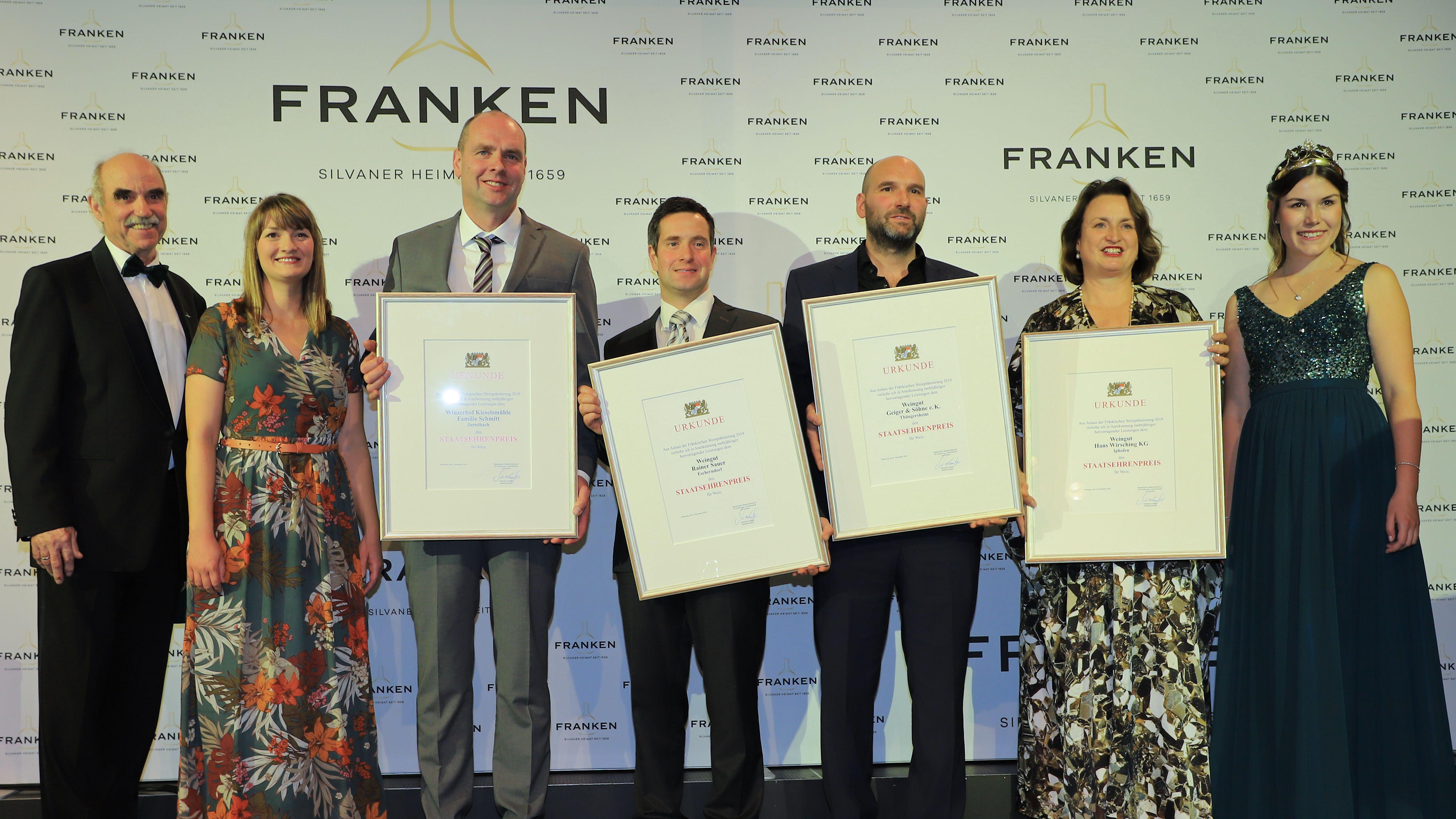 Verleihung Bayerischer Staatsehrenpreis 2019