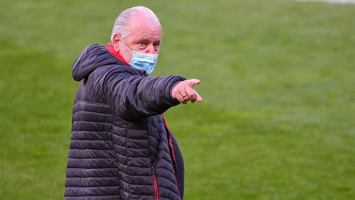 Nicht zufrieden mit dem Saisonstart: Peter Jackwerth.