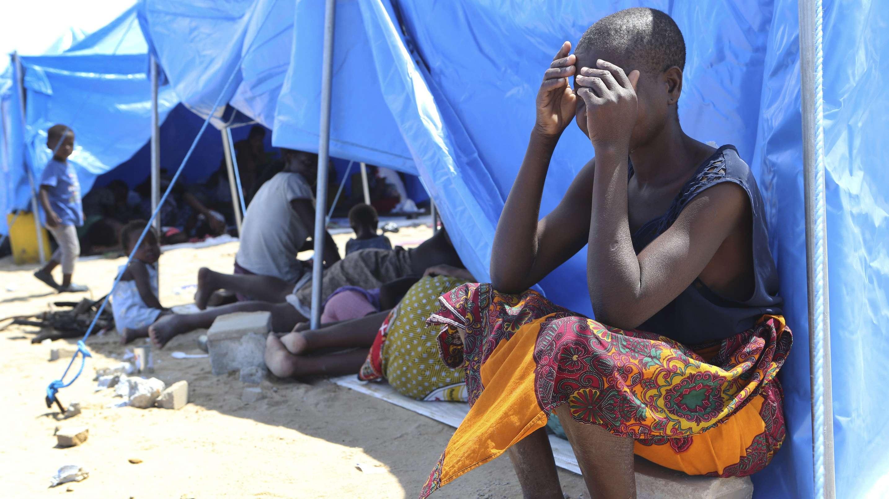 Flutopfer in Mosambik