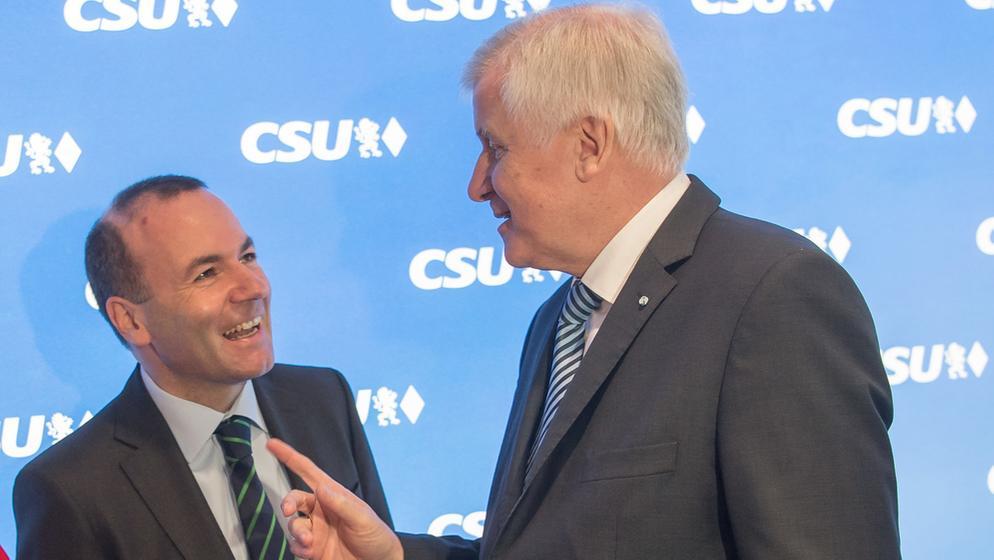 CSU-Vize Weber schließt eine Kandidatur für die Nachfolge von Parteichef Seehofer nicht aus | Bild:dpa-Bildfunk/Peter Kneffel