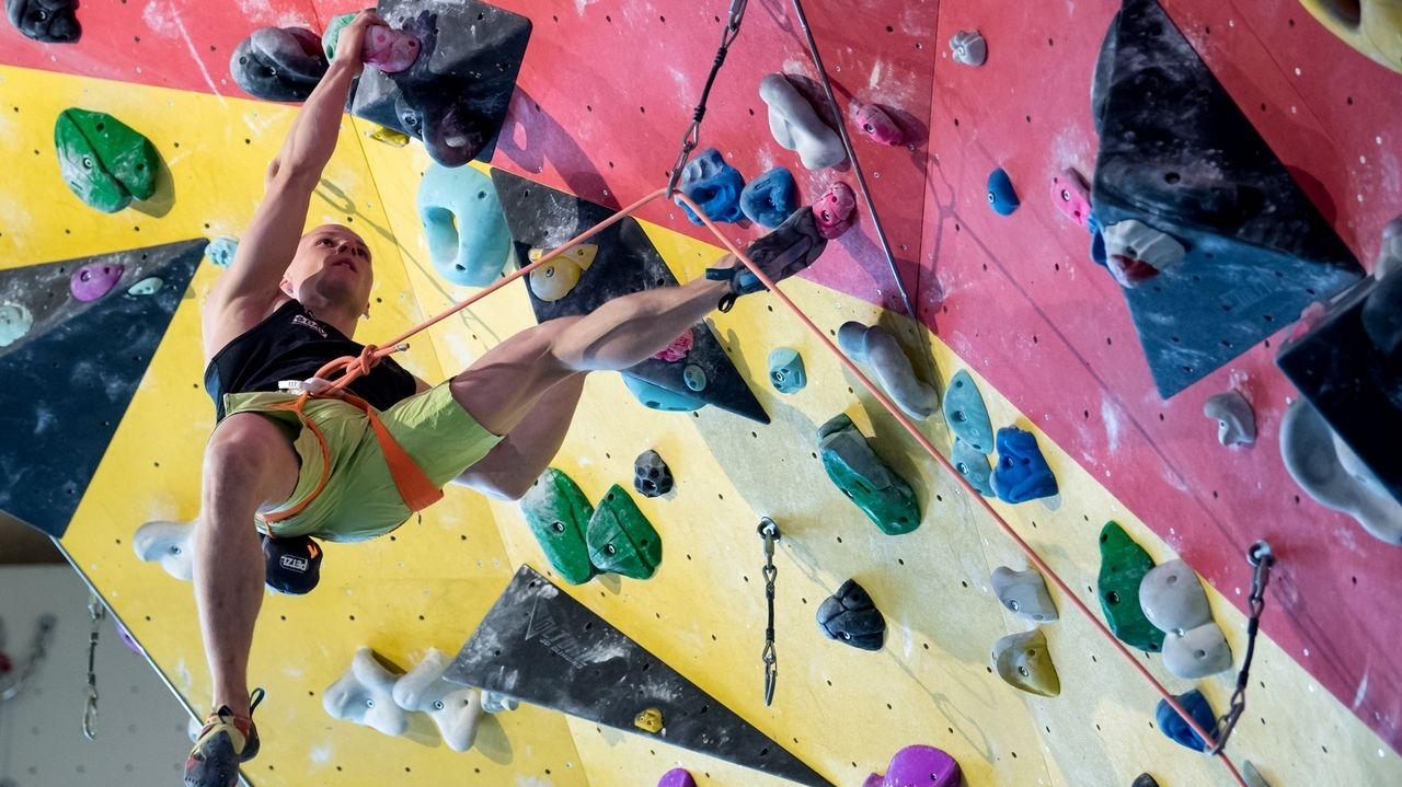 Kletterer Christoph Hanke