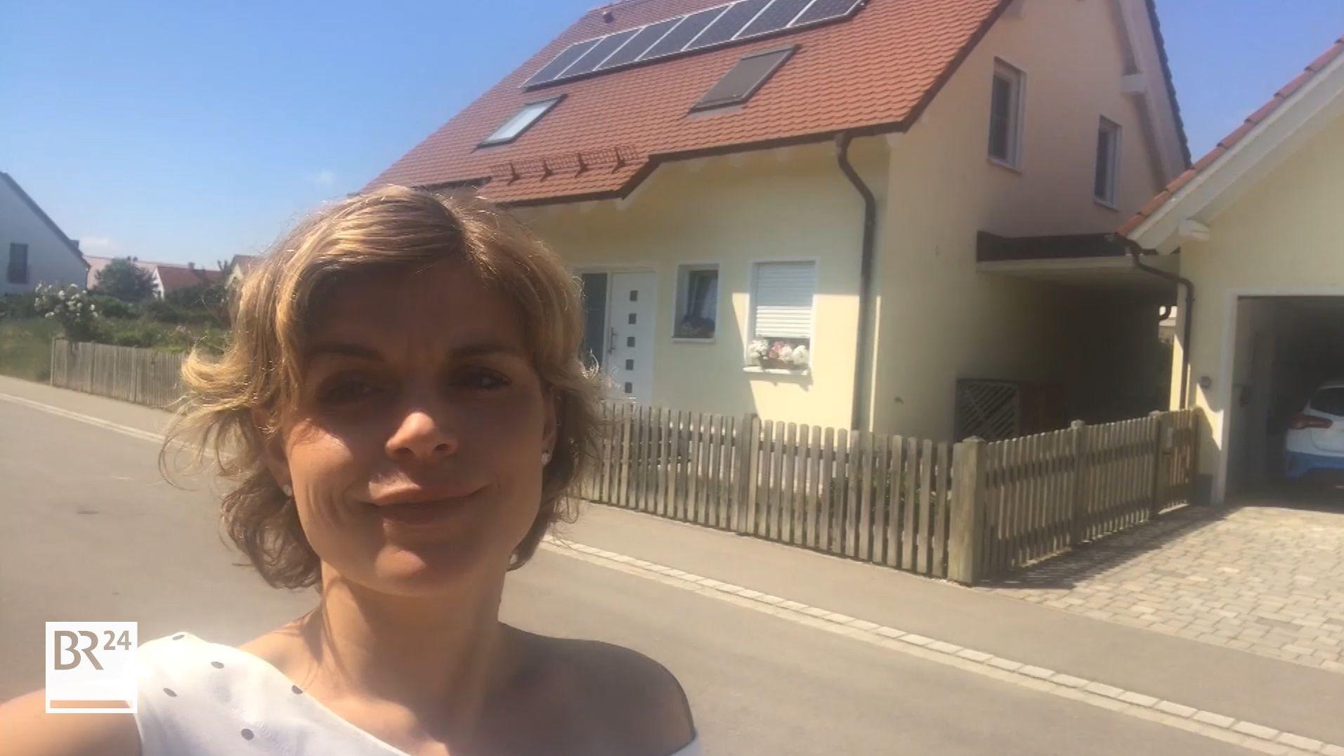 Judith Zacher, BR-Korrespondentin für die Landkreise Dillingen und Donau-Ries, will möglichst viel klimaschädliches CO2 vermeiden.
