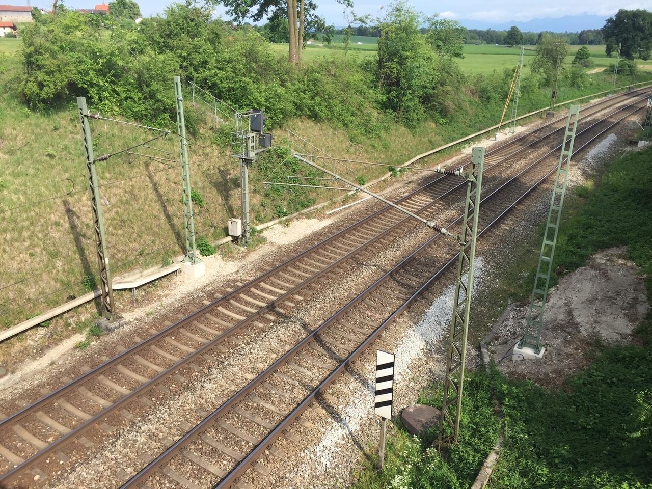 Bauarbeiten Auf Bahnstrecke Rosenheim München Br24