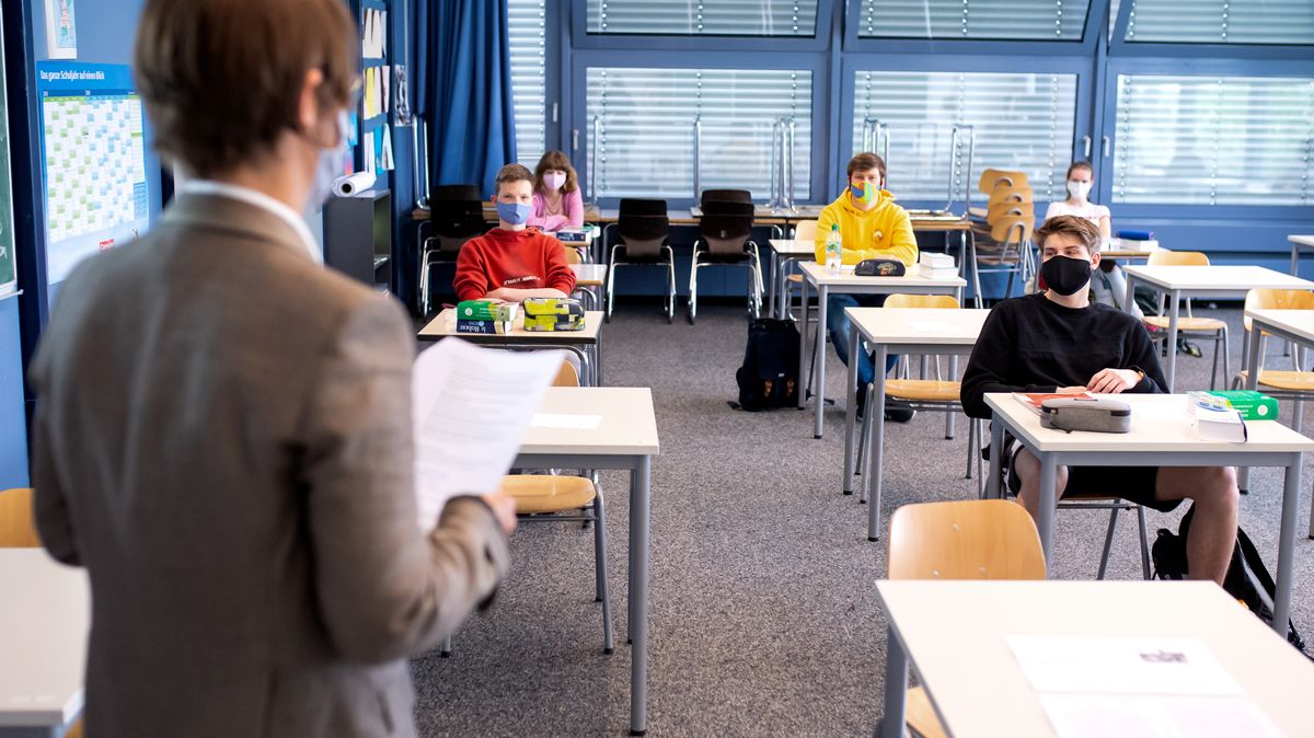 Archivbild: Schüler in Unterhaching
