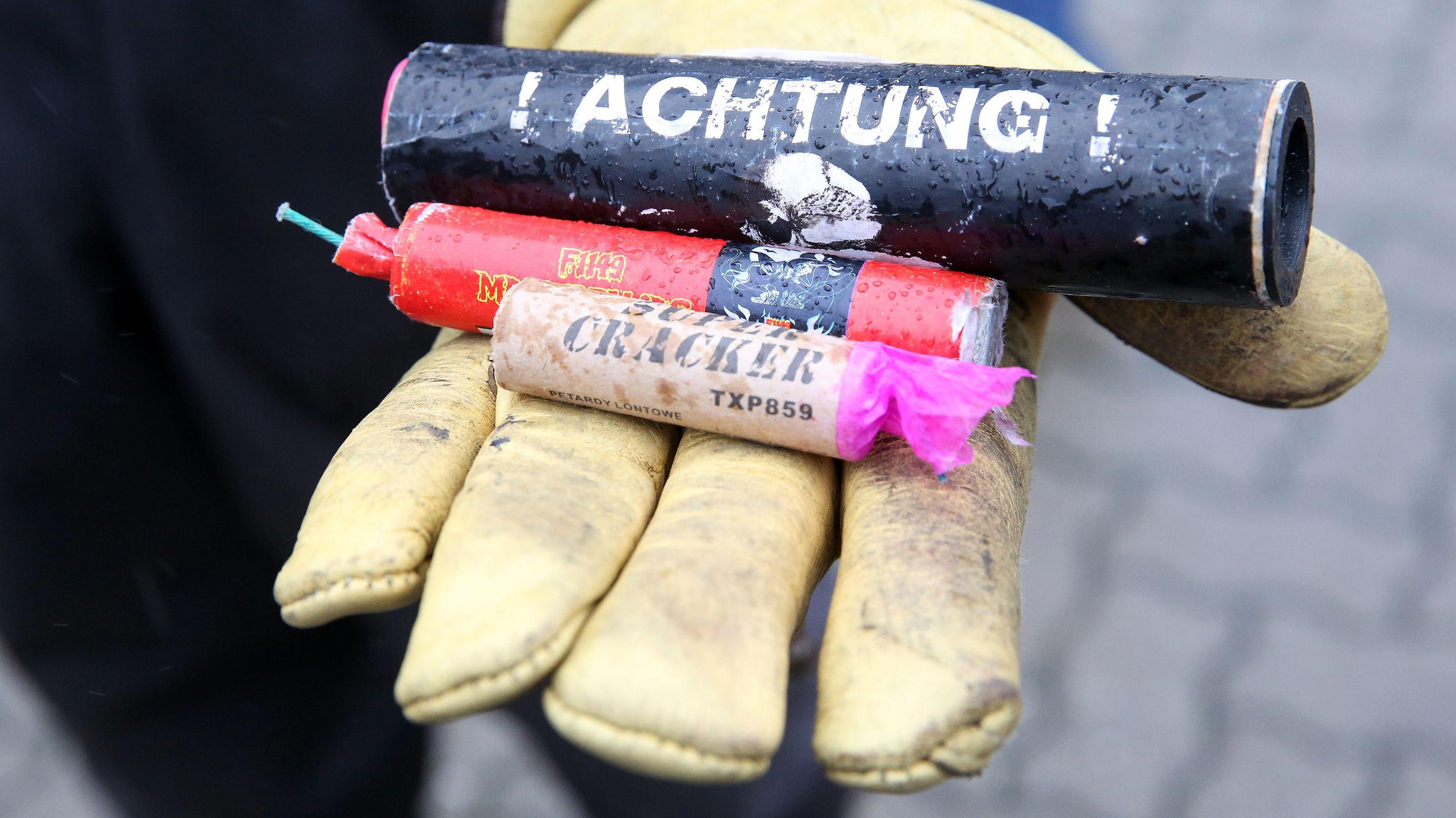 Jedes Jahr an Silvester gibt es Verbrennungen und andere schwere Verletzungen durch Böller