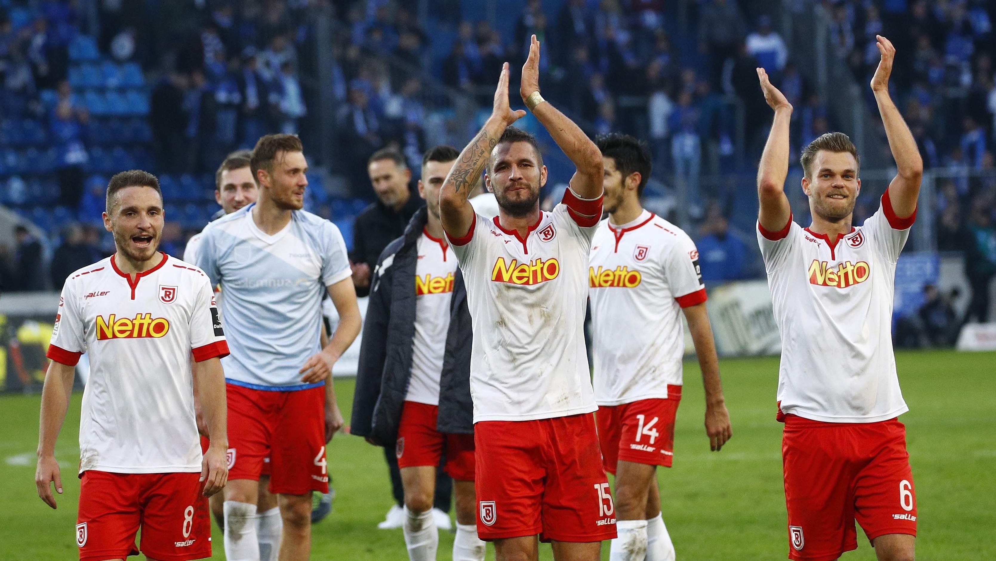 Spieler des SSV Jahn Regensburg