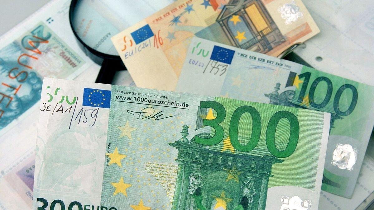 Ein 300-Euro-Schein