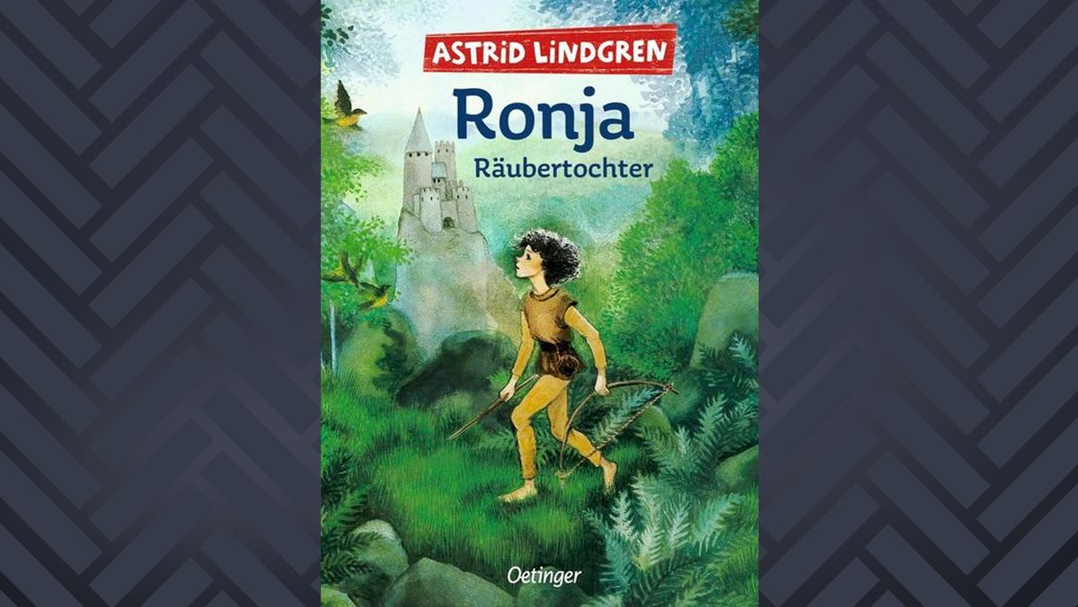 Buchcover mit Ronja im Wald