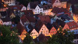 Kulmbacher Altstadt aus der Vogelperspektive | Bild:picture alliance / Bildagentur-online/Sunny Celeste