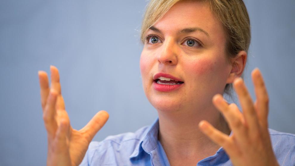 Grünen-Landtagsfraktionschefin Katharina Schulze | Bild:dpa-Bildfunk