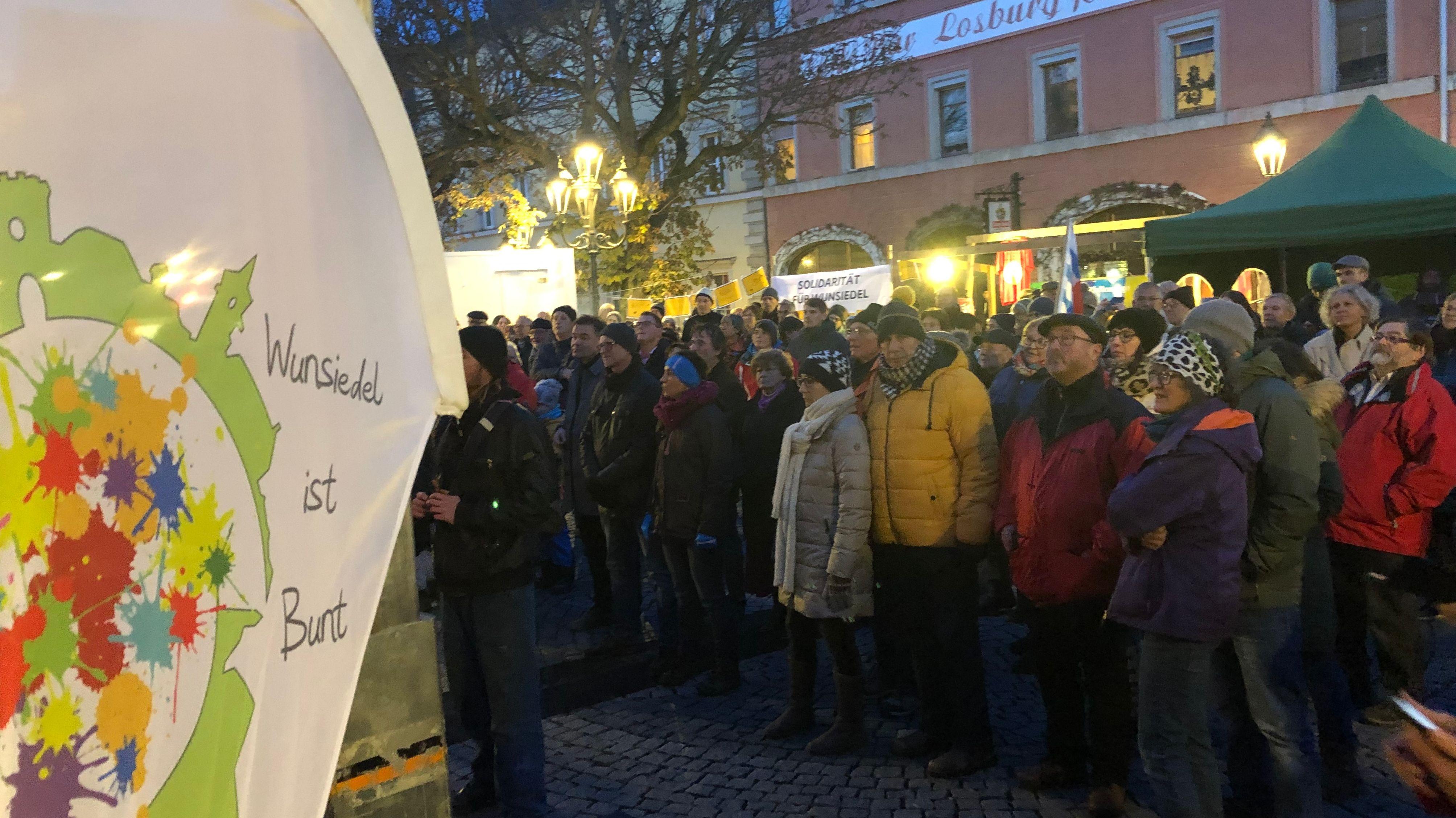 Wunsiedel ist bunt: Nacht der Demokratie
